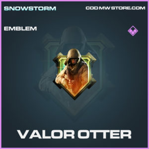 Valor Otter emblem epic call of duty modern warfare warzone item