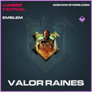 Valor Raines emblem epic call of duty modern warfare warzone item