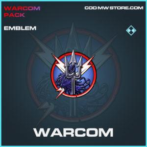Warcom emblem rare call of duty modern warfare warzone item