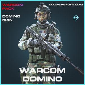 Warcom Domino rare call of duty modern warfare warzone item