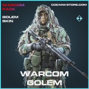 Warcom Golem skin rare call of duty modern warfare warzone item