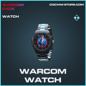 Warcom watch rare call of duty modern warfare warzone item