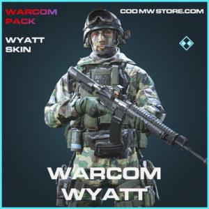 Warcom Wyatt skin rare call of duty modern warfare warzone item