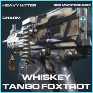Whiskey Tango Foxtrot charm rare call of duty modern warfare warzone item