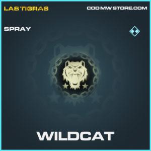 Wildcat rare spray call of duty modern warfare warzone item