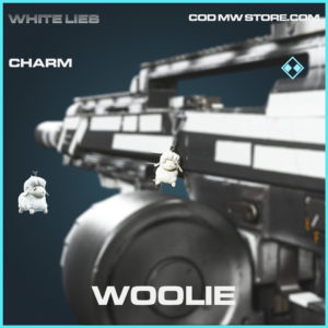 Woolie rare charm call of duty modern warfare warzone item