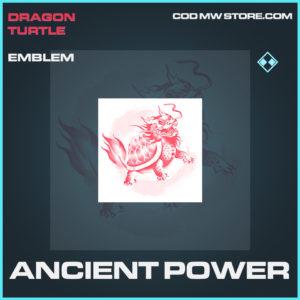 Ancient Power emblem rare call of duty modern warfare warzone item