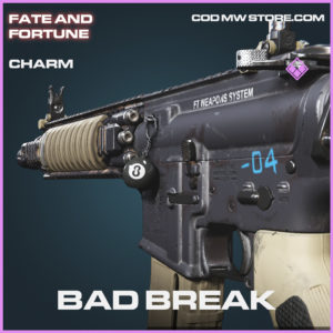 Bad Break Charm epic call of duty modern warfare warzone item