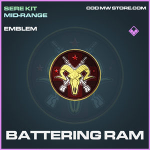 Battering Ram emblem epic call of duty modern warfare warzone item