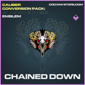 Chained Down epic emblem call of duty modern warfare warzone item