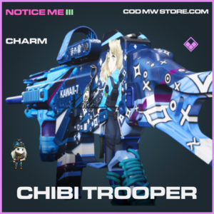 Chibi Trooper charm epic call of duty modern warfare warzone item