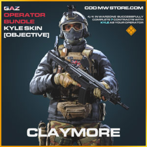Claymore Kyle objective mission skin legendary call of duty modern warfare warzone item