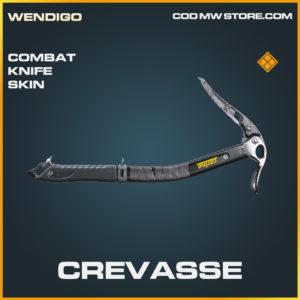 Crevasse Combat knife skin legendary blueprint call of duty modern warfare warzone item
