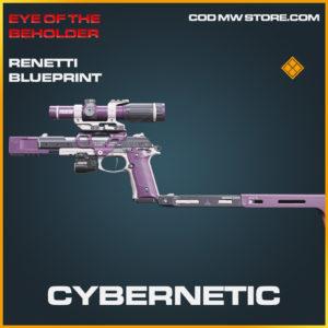 Cybernetic Renetti skin legendary blueprint call of duty modern warfare warzone item