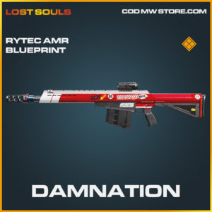 Damnation Rytec AMR skin legendary blueprint call of duty modern warfare warzone item
