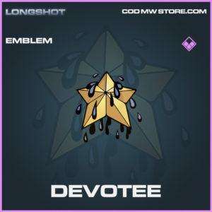 Devotee emblem epic call of duty modern warfare warzone item