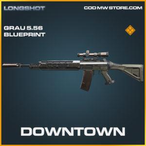 Downtown Grau 5.56 skin legendary blueprint call of duty modern warfare warzone item