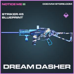 Dream Dasher Striker 45 skin epic blueprint call of duty modern warfare warzone item