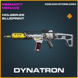 Dynatron Holger-26 skin legendary blueprint call of duty modern warfare warzone item