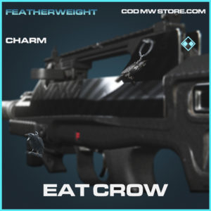 Eat crow charm rare call of duty modern warfare warzone item
