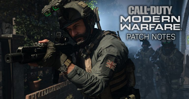 29 June 2020 – Modern Warfare & Warzone Patch Notes