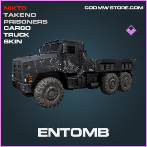 Entomb Cargo Truck epic skin call of duty modern warfare warzone item