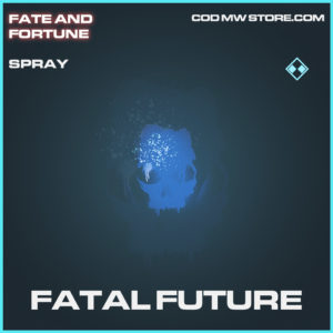 Fatal Future spray rare call of duty modern warfare warzone item