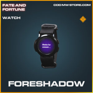 Foreshadow watch legendary call of duty modern warfare warzone item