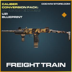Freight Train Uzi skin legendary blueprint call of duty modern warfare warzone item