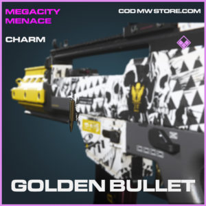 Golden Bullet charm epic call of duty modern warfare warzone item
