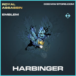 Harbinger emblem rare call of duty modern warfare warzone item