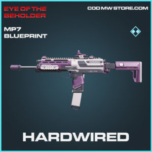 Hardwired MP7 skin rare blueprint call of duty modern warfare warzone item