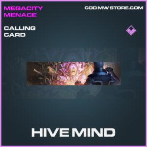 Hive Mind calling card epic call of duty modern warfare warzone item