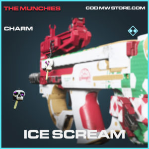 Ice Scream charm rare call of duty modern warfare warzone item