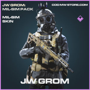 JW Grom mil sim skin epic call of duty modern warfare warzone item