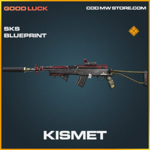 Kismet SKS skin legendary blueprint call of duty modern warfare warzone item