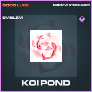 Koi pond emblem epic call of duty modern warfare warzone item
