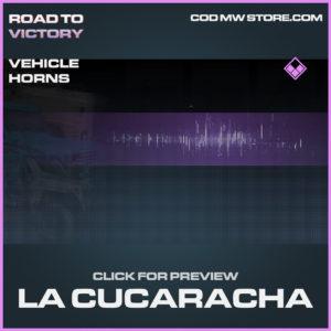 La Cucaracha epic vehicle horns call of duty modern warfare warzone item