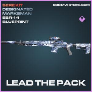 Lead the Pack EBR-14 skin epic blueprint call of duty modern warfare warzone item