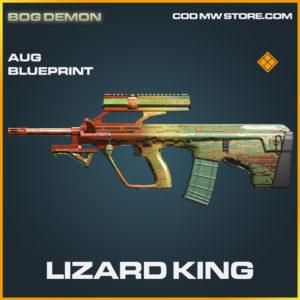 Lizard King AUG skin legendary blueprint call of duty modern warfare warzone item