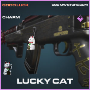 Lucky Cat charm epic call of duty modern warfare warzone item