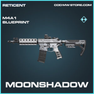 Moonshadow M4A1 skin rare blueprint call of duty modern warfare warzone item