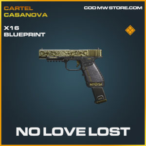 No Love Lost X16 skin legendary blueprint call of duty modern warfare warzone item