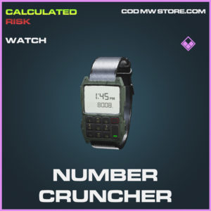 Number Cruncher watch epic call of duty modern warfare warzone item