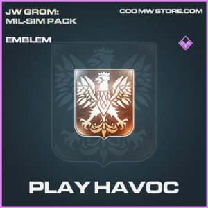 Play Havoc emblem epic call of duty modern warfare warzone item