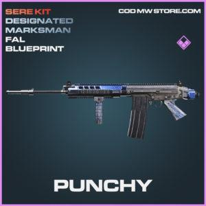 Punchy FAL skin epic blueprint call of duty modern warfare warzone item