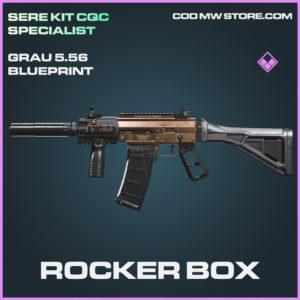 Rocker Box Grau 5.56 skin epic blueprint call of duty modern warfare warzone item