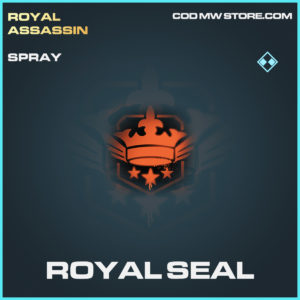 Royal Seal spray rare call of duty modern warfare warzone item