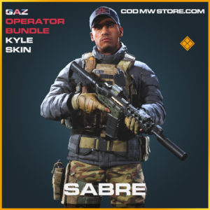 Sabre kyle skin legendary call of duty modern warfare warzone item