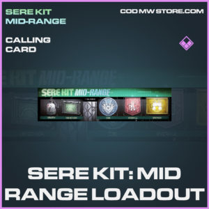 Sere Kit: Mid-Range loadout calling card epic call of duty modern warfare warzone item
